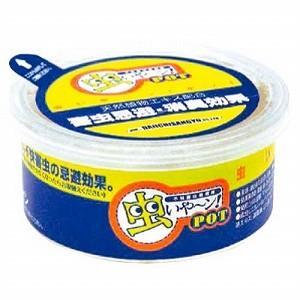 大一産業 不快害虫忌避剤 虫いやーンPOT 約100g|monotus-pro