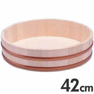 天然木 寿司飯台 桶 42cm 1.5升の商品画像|ナビ