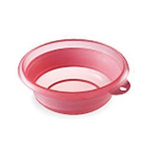 伊勢藤 折りたためる 洗面器 ソフト湯おけ 2.5L I-522 ピンク