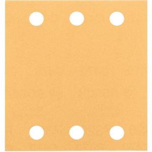 ボッシュ サンディングペーパー (GSS140A・1400A用) 115×107mm #60 (10...