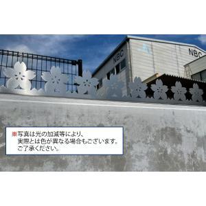 ツインピー デザイン 忍び返し 桜型|monpi-hikido-2016