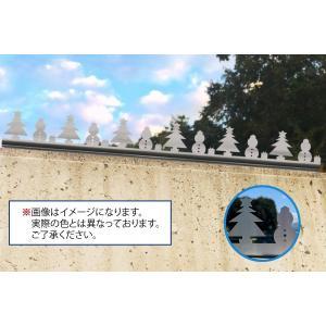ツインピー デザイン 忍び返し クリスマス型|monpi-hikido-2016