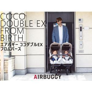 エアバギー ココダブルEX フロムバース ストローラー AIRBUGGY COCO DOUBLE F...