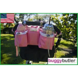 バギーギア バギーバトラー・スポーツ ピンク Buggygear ベビーカーオーガナイザー 保冷保温 ショルダーバッグ|monreve