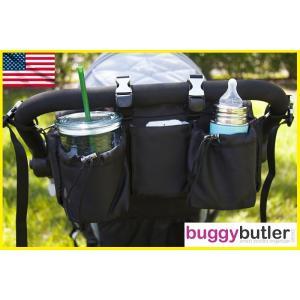 バギーギア バギーバトラー・スポーツ ブラック Buggygear ベビーカーオーガナイザー 保冷保温 ショルダーバッグ|monreve