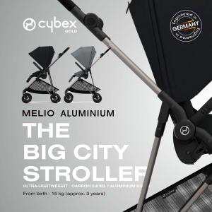 メリオ アルミフレーム 2021リニューアルモデル ストローラー cybex MELIO AL ベビーカー サイベックス|monreve