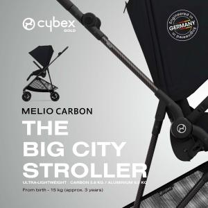 メリオ カーボン2021 リニューアルモデル 軽量コンパクト両対面ストローラー サイベックス cybex MELIO CARBON ベビーカー|monreve