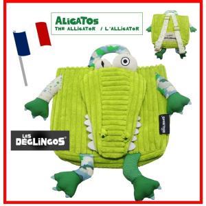 デグリンゴス バックパック わにのアリガトス ボディバッグ DEGLINGOS|monreve