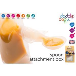 ドドルスプーンアタッチメントボックス ドドルバッグdoddlebags 離乳食に 携帯用に トラベルグッズ|monreve