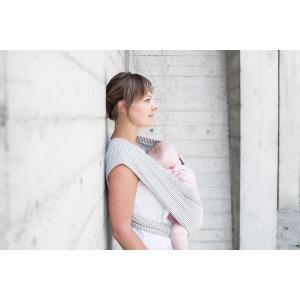 スタジオ・ロメオ ストライプ 抱っこ紐 スリング 新生児から Studio Romeo|monreve