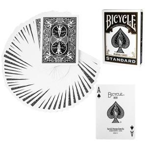 トランプ バイスクル Poker deck Black back