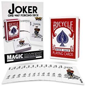トランプ MAGIC MAKERS Joker One Way Forcing ジョーカーのみオリジナルデッキ