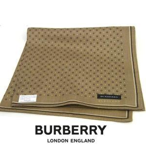 バーバリー BURBERRY ハンカチ 大判 正規品 新品 宅配便 送料無料 BB221|monstyle