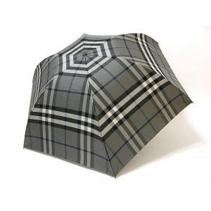 バーバリー BURBERRY 傘 折りたたみ チェック柄 雨傘 アンブレラ 正規品 新品 送料無料 BB493|monstyle