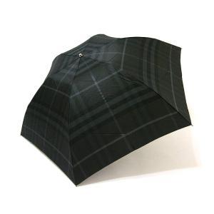 バーバリー BURBERRY 傘 折りたたみ チェック柄 雨傘 アンブレラ 正規品 新品 送料無料 BB494|monstyle