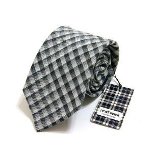 ニューヨーカー NEWYORKER ネクタイ 麻 シルク 絹 正規品 新品 送料無料 NY024 monstyle