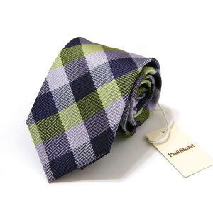 ポールスチュアート Paul Stuart ネクタイ シルク 絹 正規品 新品 送料無料 PST245|monstyle