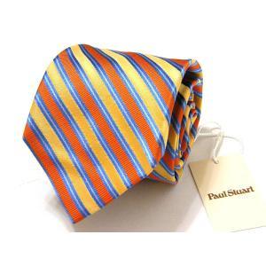 ポールスチュアート Paul Stuart ネクタイ シルク 絹 正規品 新品 送料無料 PST302|monstyle