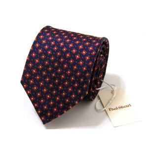 ポールスチュアート Paul Stuart ネクタイ シルク 絹 正規品 新品 送料無料 PST335|monstyle