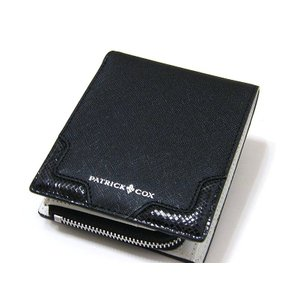 パトリックコックス PATRICK COX 財布 2つ折り   牛革レザー カード収納多数 正規品 未使用品 送料無料 PT067 monstyle