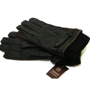 タケオキクチ TAKEOKIKUCHI 手袋 グローブ 羊革 ラムレザー 黒 25cm 正規品 新品 送料無料 TK006|monstyle