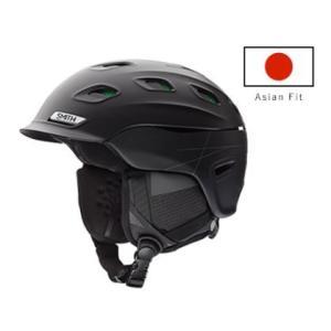 SMITH(スミス)【VANTAGE】スキー スノーボード ヘルメット VANTAGE(バンテージ) アジアンフィットMatteBlack M