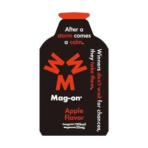 スポーツサプリメント Mag-onマグオン エナジージェル アップル 12個入り TW210151|montaukonline