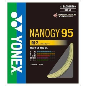 ヨネックス(YONEX) NANOGY95 (バドミントン用) フラッシュイエロー NBG95|montaukonline