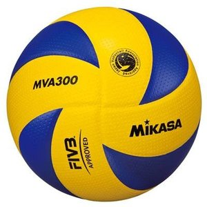 ミカサ バレーボール 国際公認球 検定球5号 日本バレーボール協会主催大会公式試合球 一般/大学/高校用 MVA300|montaukonline