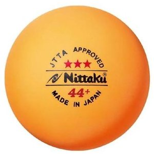 ニッタク(Nittaku) ラージボール 44プラ 3スター(3個入り) NB-1010 montaukonline