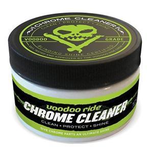 インフィニクス VOODOORIDE(ブードゥーライド) CHROME CLEANER(クロームクリーナー) クロームメッキ専用コンパウンド&保護材 VR...|montaukonline