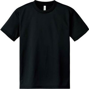 [グリマー]4.4oz ドライTシャツ(クルーネック)00300-ACT[キッズ] ACT  ブラッ...