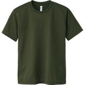 [グリマー]4.4oz ドライTシャツ(クルーネック)00300-ACT[キッズ] ACT  アーミ...