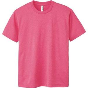 [グリマー]半袖 4.4オンス ドライ Tシャツ [クルーネック] 00300-ACT ミックスピン...