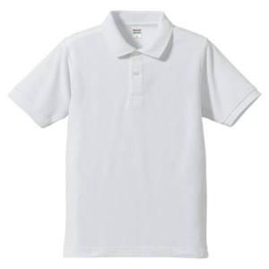 品名  5.3OZポロシャツ(CVC) カラー:1 [ ホワイト ] サイズ:XL  アクティブなス...