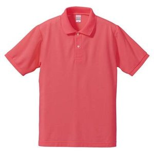品名  5.3OZポロシャツ(CVC) カラー:195 [ フラミンゴピンク ] サイズ:XS  ア...