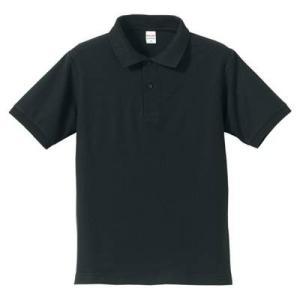 品名  5.3OZポロシャツ(CVC) カラー:2 [ ブラック ] サイズ:L  アクティブなスポ...