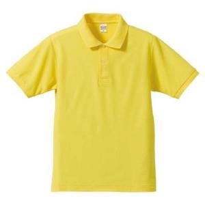 品名  5.3OZポロシャツ(CVC) カラー:21 [ イエロー ] サイズ:L  アクティブなス...