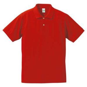 品名  5.3OZポロシャツ(CVC) カラー:232 [ ハイレッド ] サイズ:L  アクティブ...