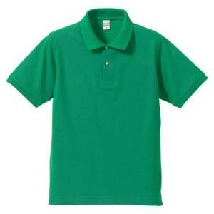 品名  5.3OZポロシャツ(CVC) カラー:25 [ ブライトグリーン ] サイズ:XL  アク...