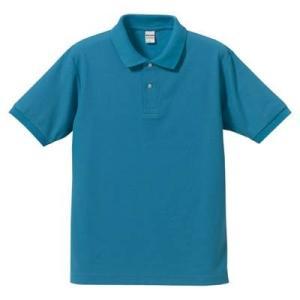 品名  5.3OZポロシャツ(CVC) カラー:538 [ ターコイズブルー ] サイズ:XS  ア...