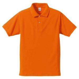 品名  5.3OZポロシャツ(CVC) カラー:64 [ オレンジ ] サイズ:XL  アクティブな...