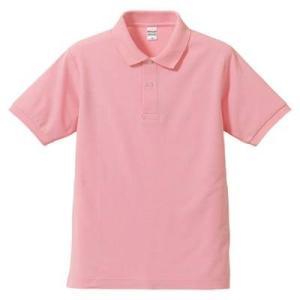 品名  5.3OZポロシャツ(CVC) カラー:66 [ ピンク ] サイズ:XS  アクティブなス...