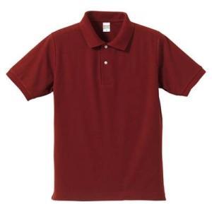 品名  5.3OZポロシャツ(CVC) カラー:72 [ バーガンディ ] サイズ:L  アクティブ...