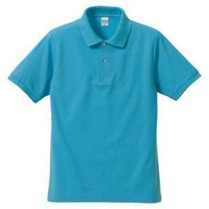 品名  5.3OZポロシャツ(CVC) カラー:83 [ アクアブルー ] サイズ:XS  アクティ...