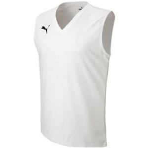 (プーマ)PUMA サッカーウェア SLインナーシャツ 655277 [メンズ] 02 ホワイト XXL|montaukonline