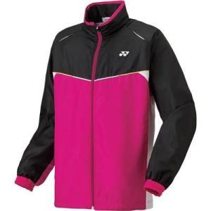 (ヨネックス)YONEX テニス・バトミントンウェア 裏地付ウィンドウォーマーシャツ 70058J [ジュニア] 70058J 123 ローズピンク J130 montaukonline