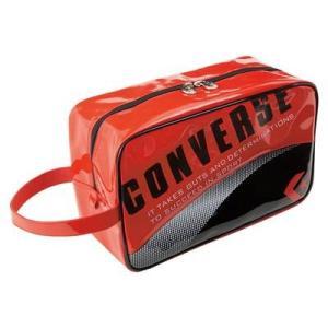 [コンバース] CONVERSE シューズケース C1508097 6419 (レツド/ブラック) montaukonline