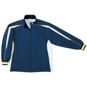 CB182501S 0S ウォームアップジャケット  カラー:2911 [ ネイビー/ホワイト ] ...