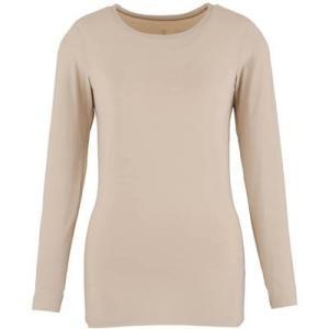 (ダンスキン)DANSKIN フィットネス Skinish 長袖シャツ DA16303 [レディース] DA16303 BG ベージュ M montaukonline